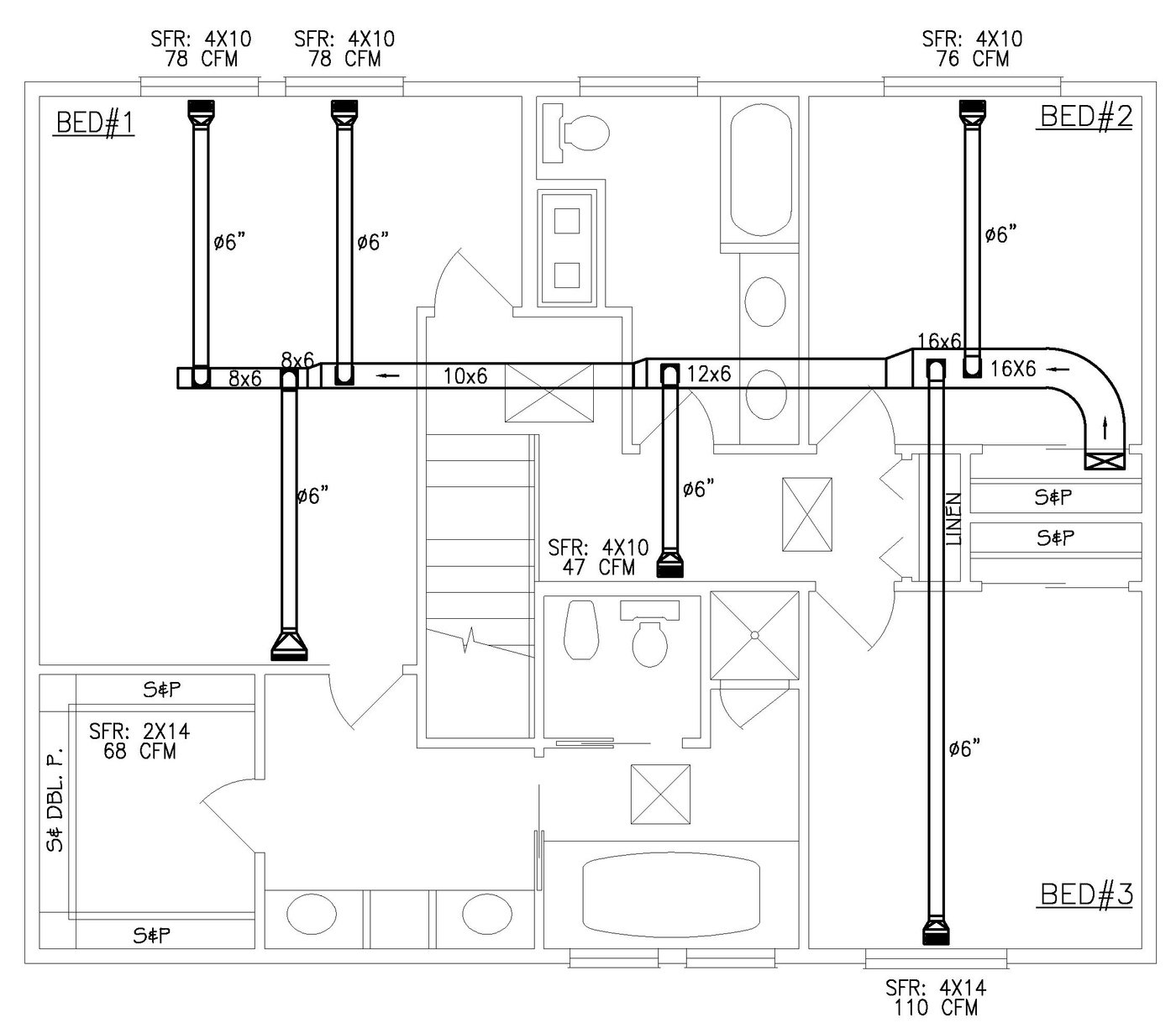 Hvac Plans By Raymond Alberga At Drawings Pictures