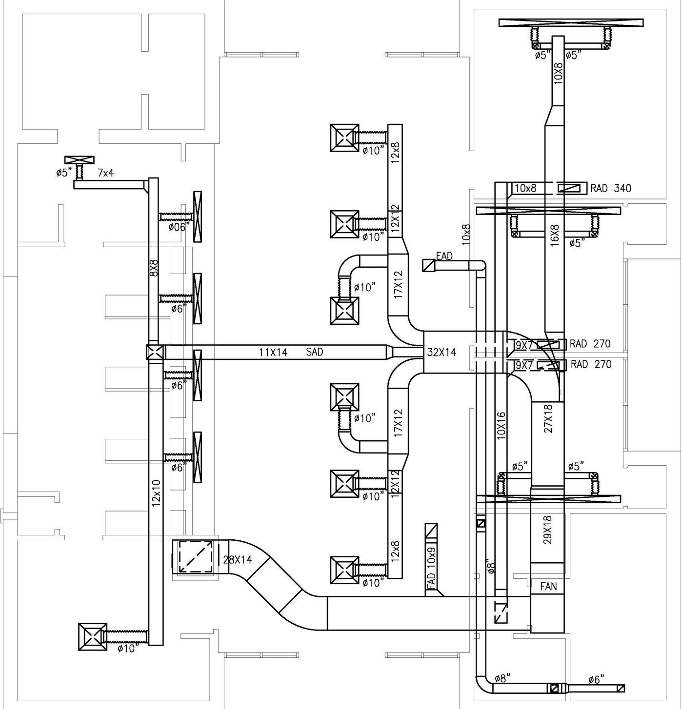 Hvac Plans By Raymond Alberga At Drawing