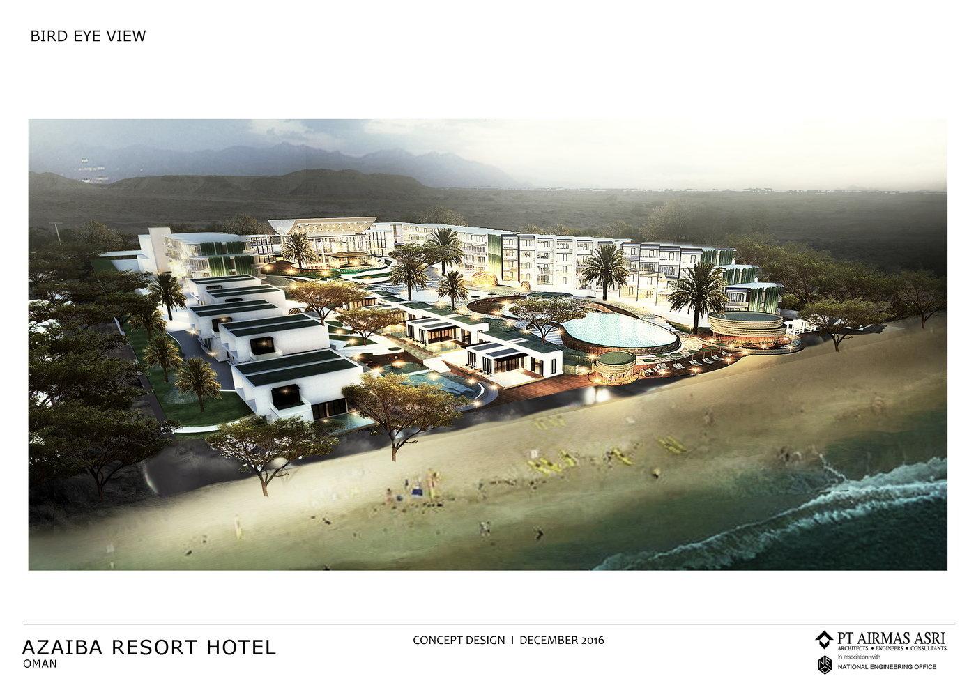 Hilton Azaiba North Hotel By Michael JS At Coroflot