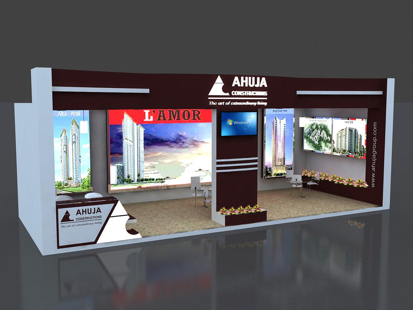 3d Exhibition Stall Design Job : Exhibition stall design by vaibhav shantaram jadhav at