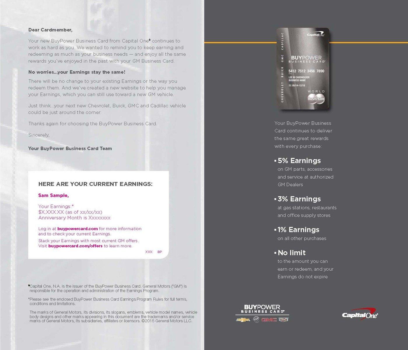 BuyPower Business Card Brochure by Stephanie Fujiwara at Coroflot.com