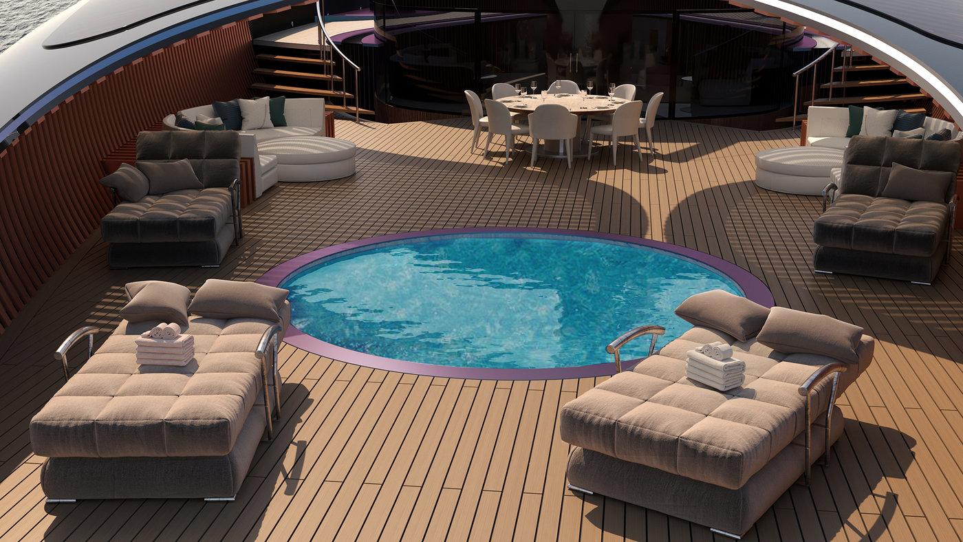 Osseo 72m luxury sailing yacht by Igor Jankovic at Coroflot com