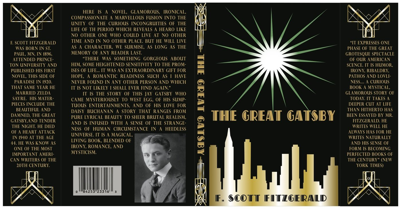 The Great Gatsby Book Cover By Mayzee Hurst At Coroflot Com
