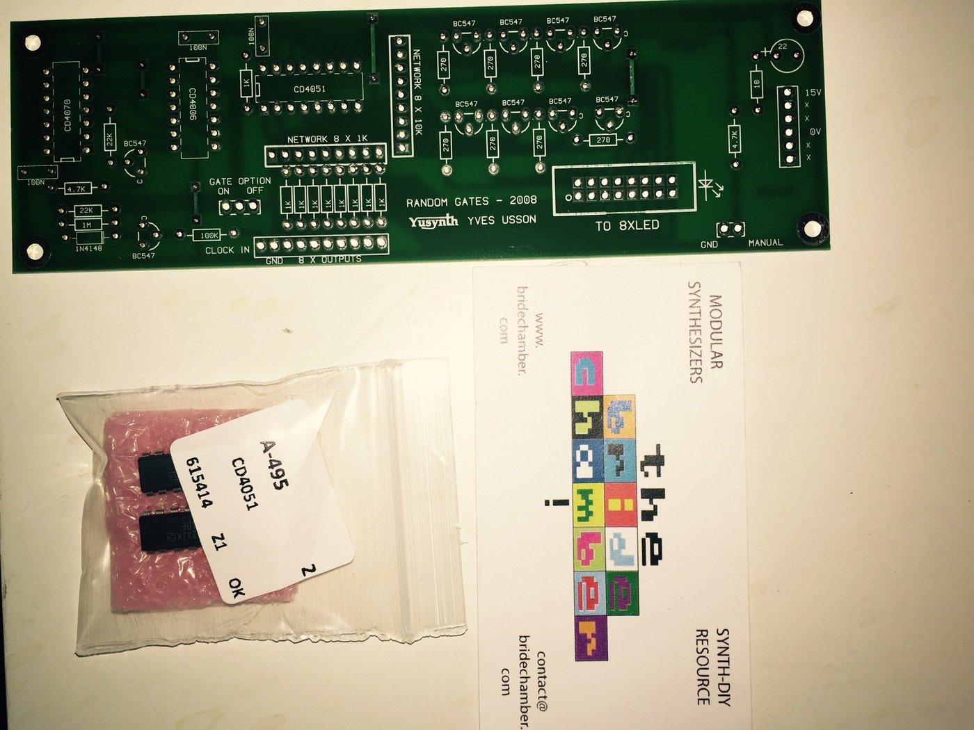 Random Gates - Module by Brian Tuley at Coroflot com