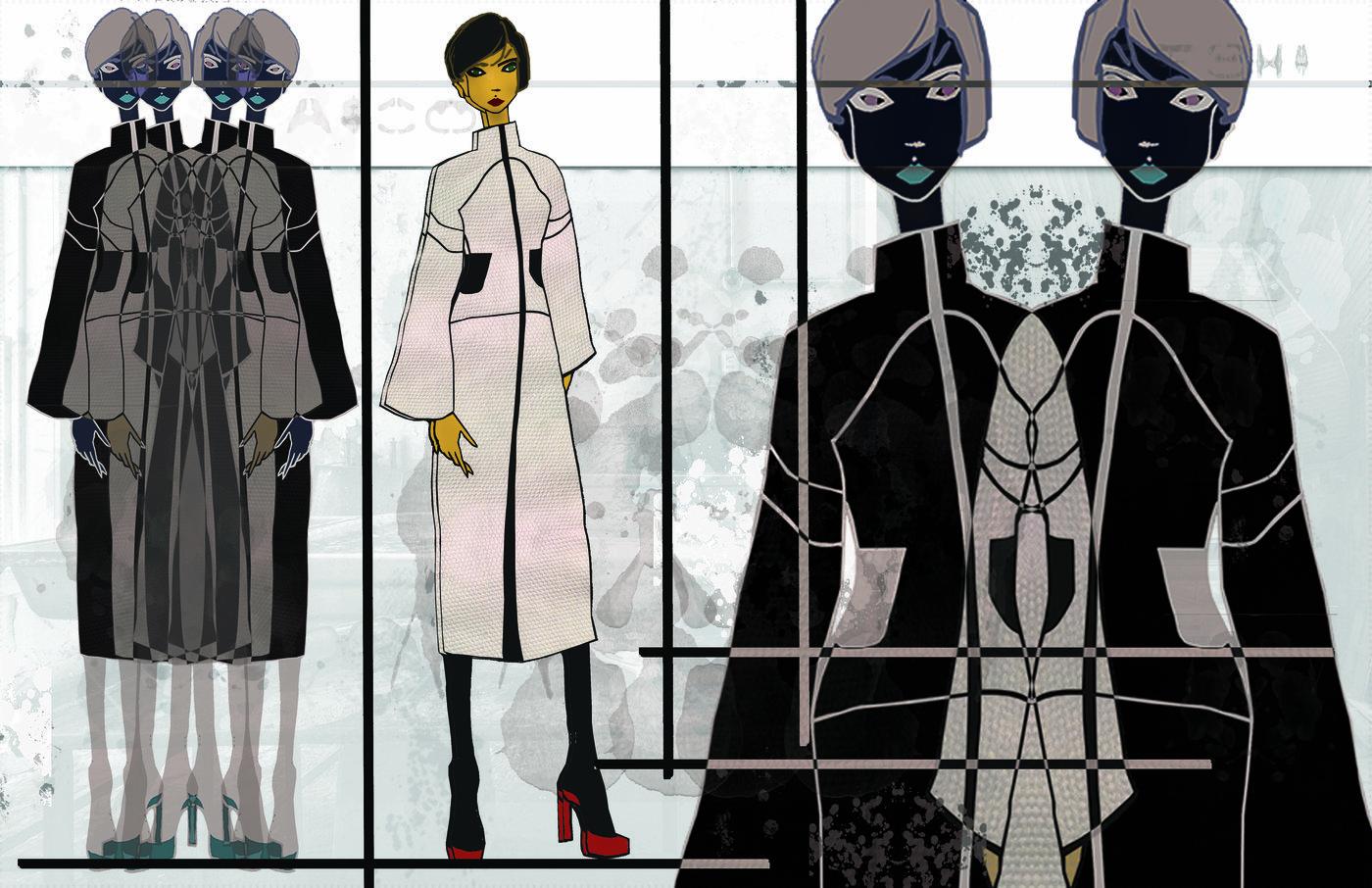 Cad Design Fashion Graphic Design Portfolio By Arabelis Griffin At Coroflot Com