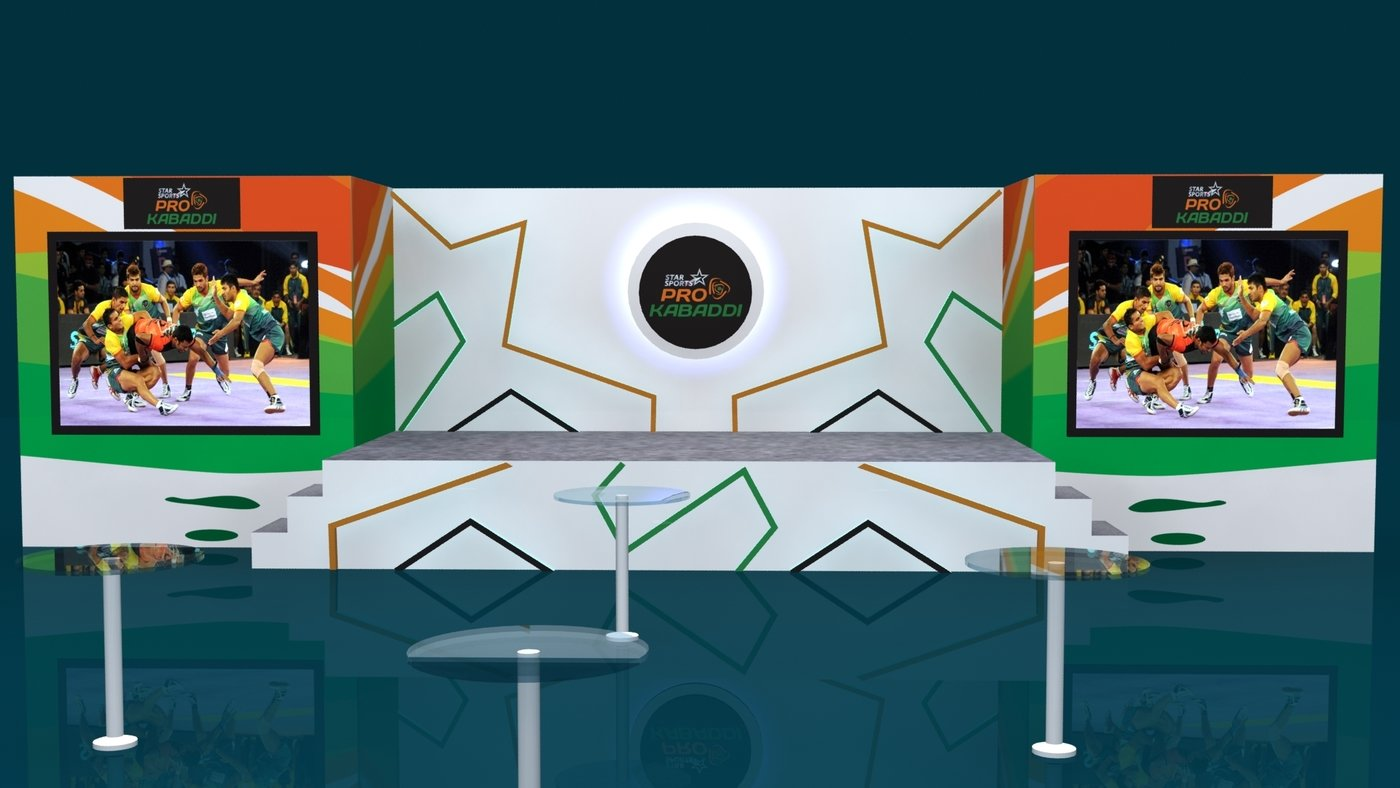 D Exhibition Stall Designer Job In : D stage set designs by javed khan at coroflot