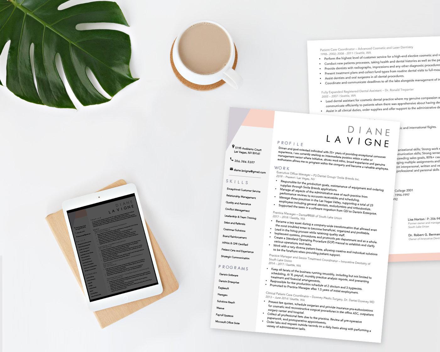 Creative Resume By Diana Knopinski At Coroflot Com