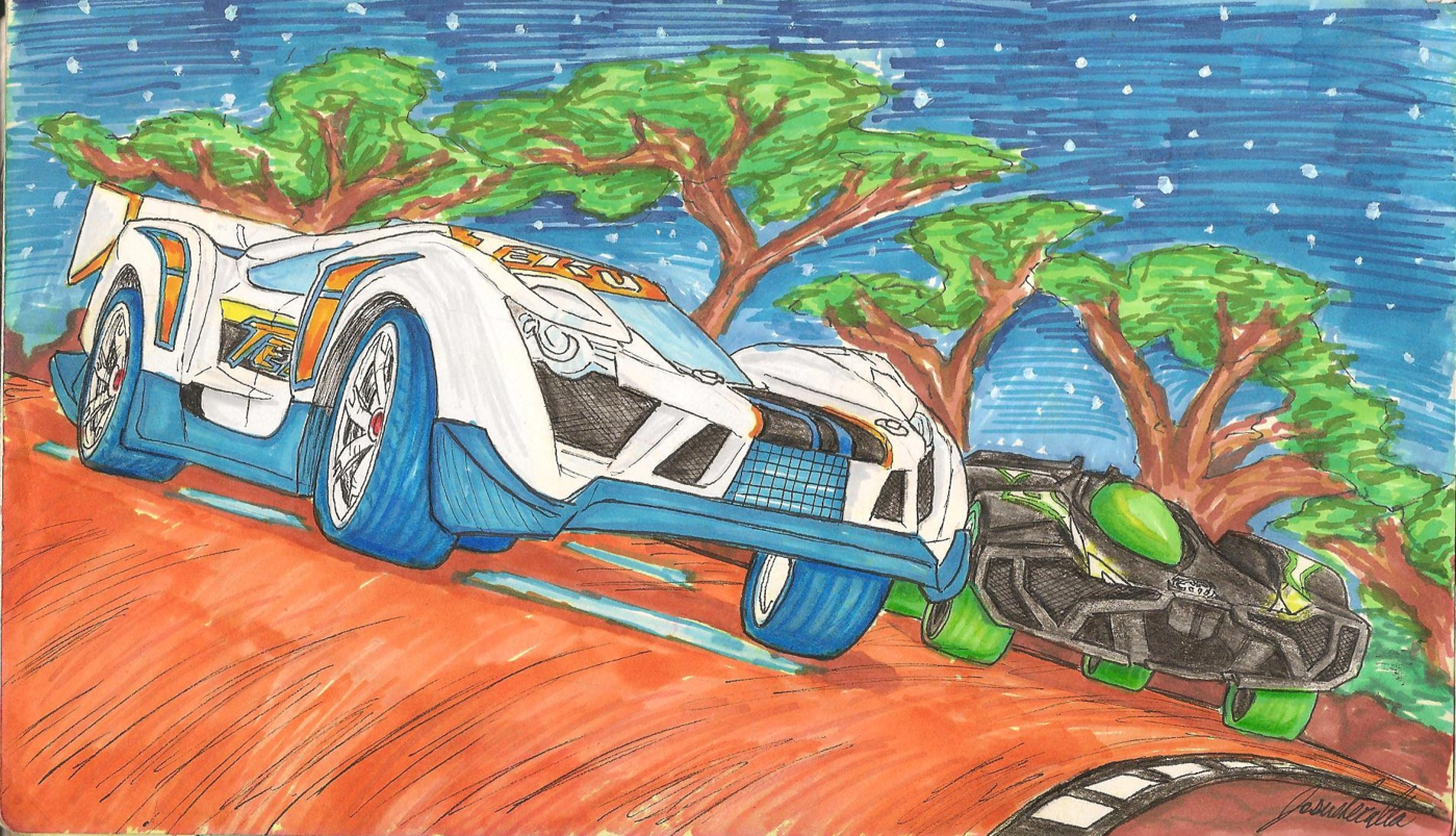 Hotwheels Acceleracers Drive to Survive Manga Project by Josue ...