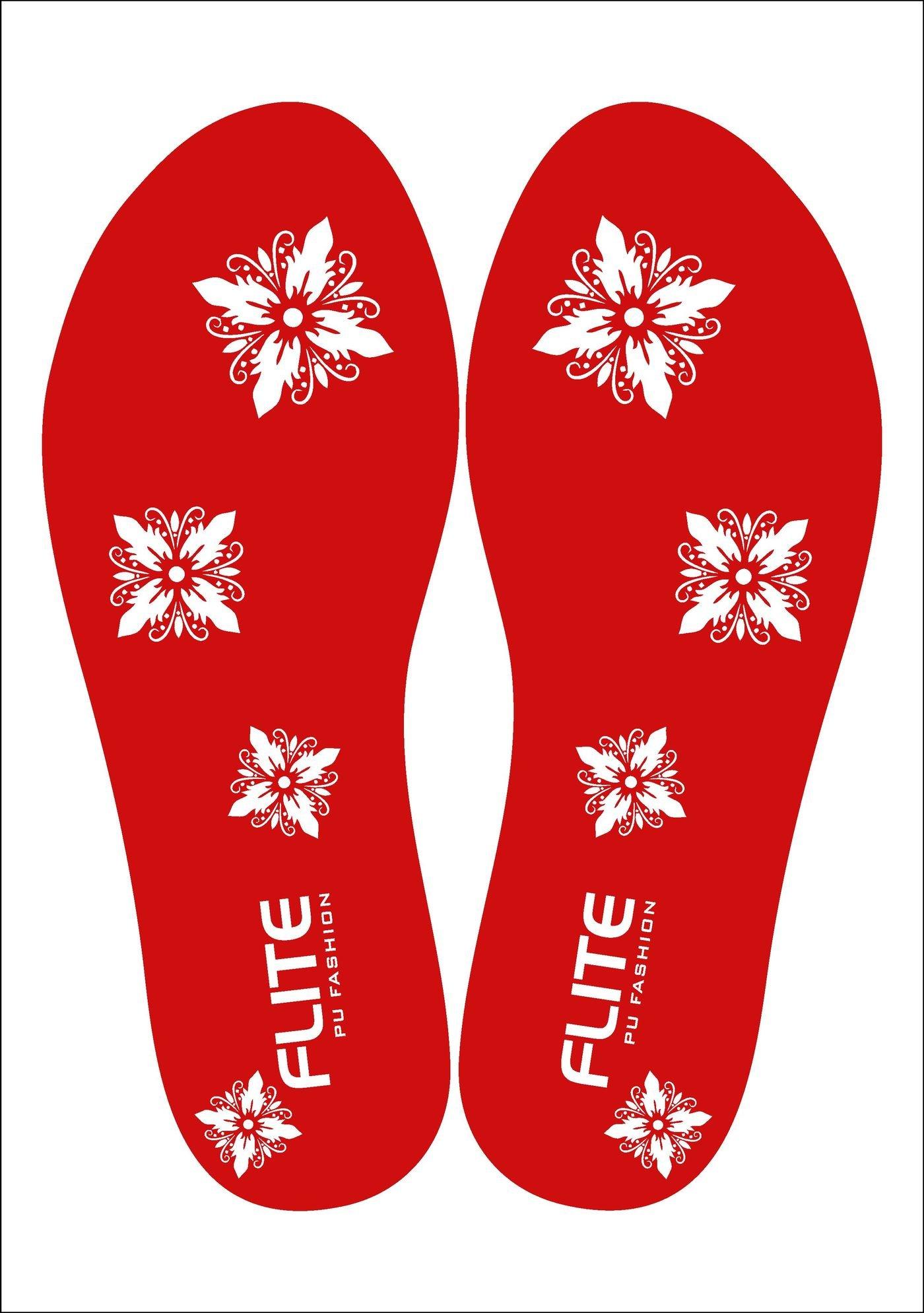 Flite PU slippers - insole artwork