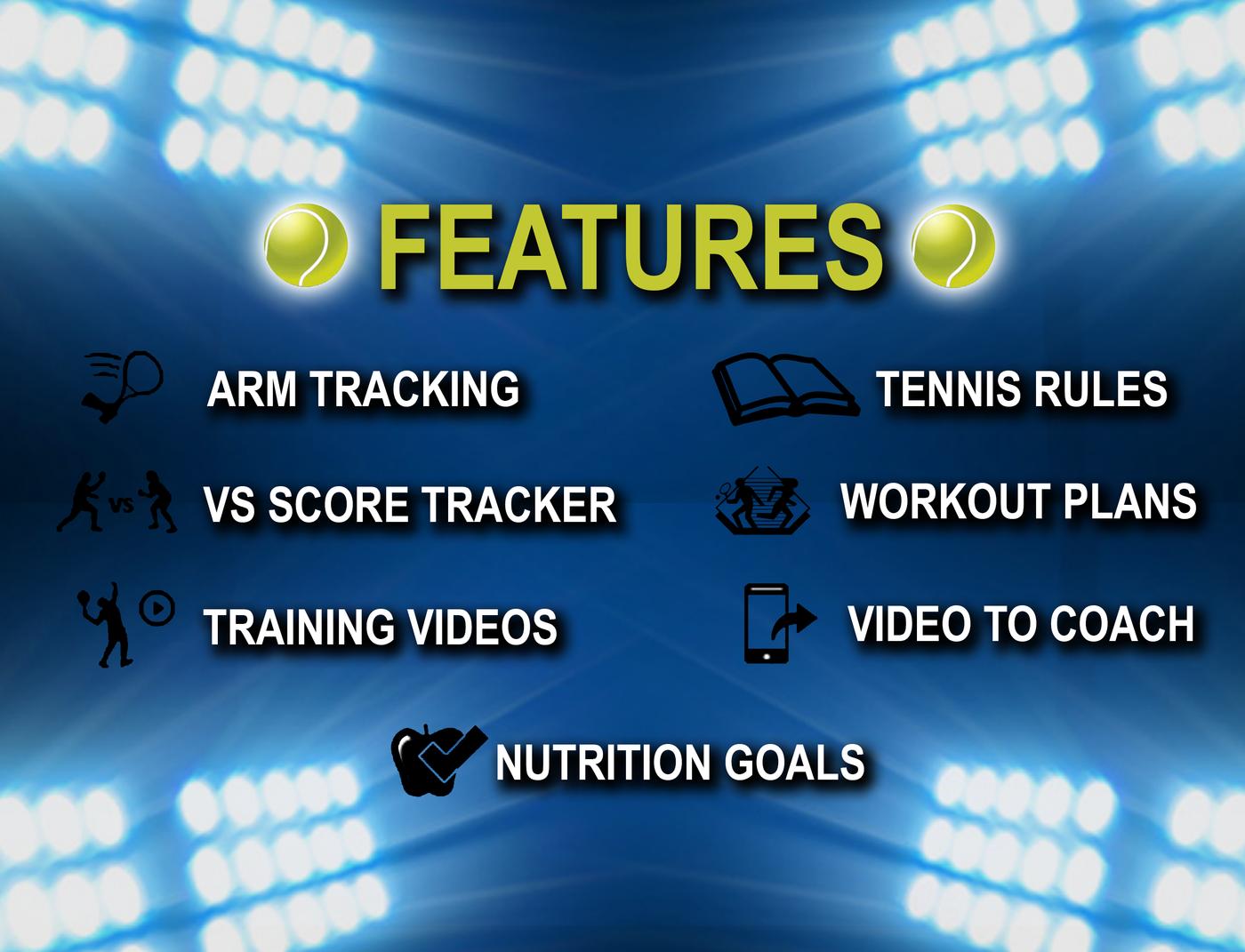 Tennis Tracker App by Nick Gubitoso at Coroflot com