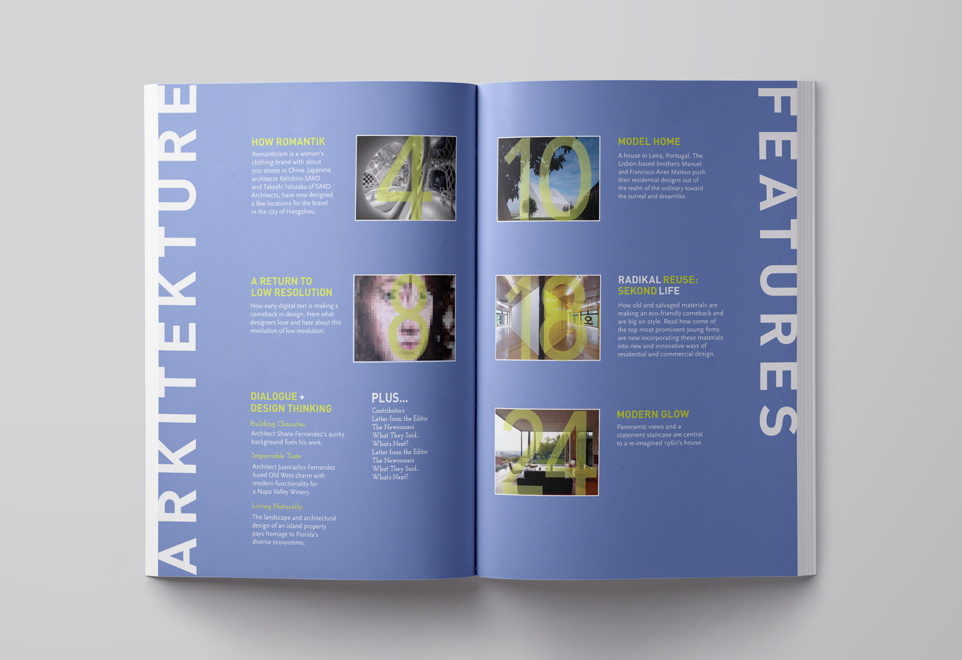 Architecture Magazine By Sharon Stout At Coroflot Com