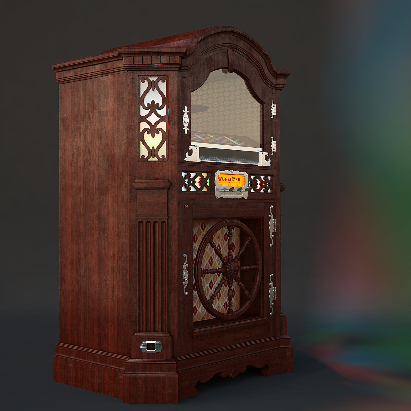 Wurlitzer Model 780 Jukebox By Robert Korsantes At