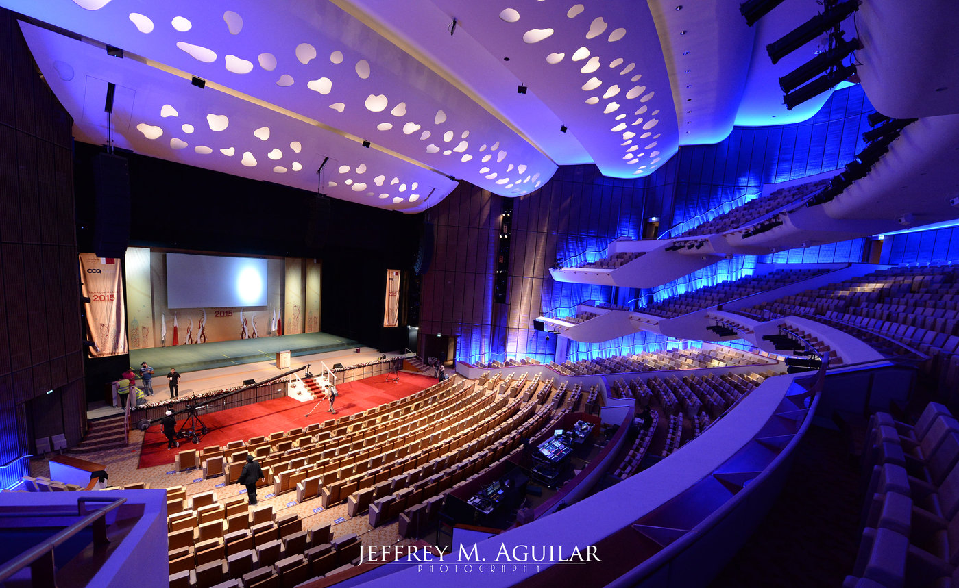 Qatar National Convention Center Theater by get real ...