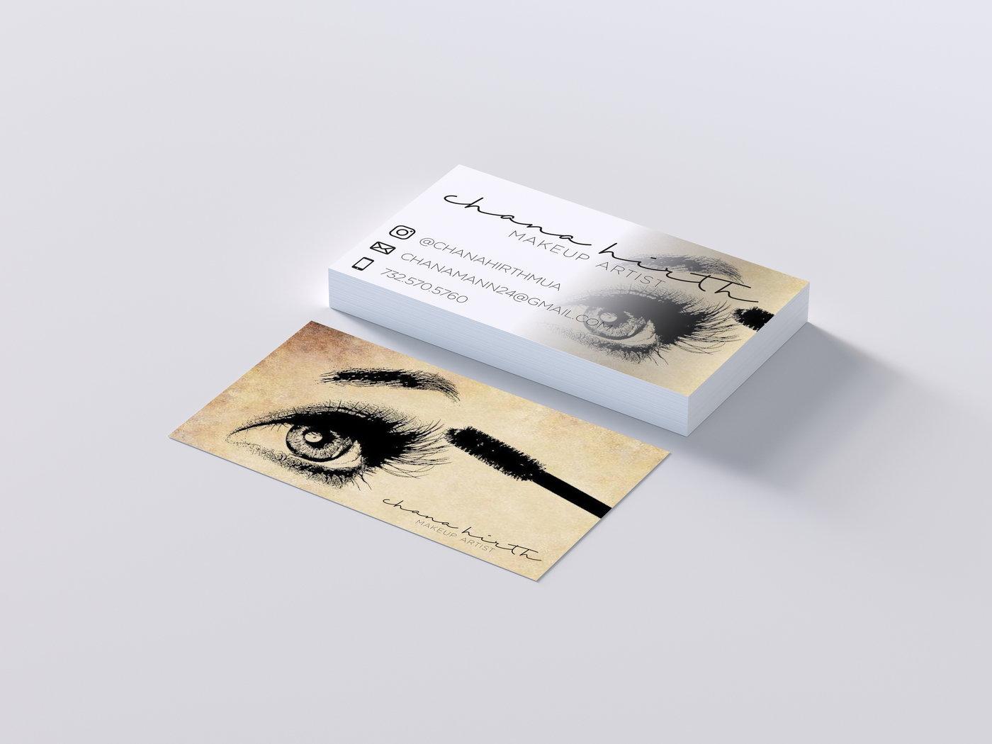 Chana Hirth MUA Business Card By Hudi Neuberger At Coroflot