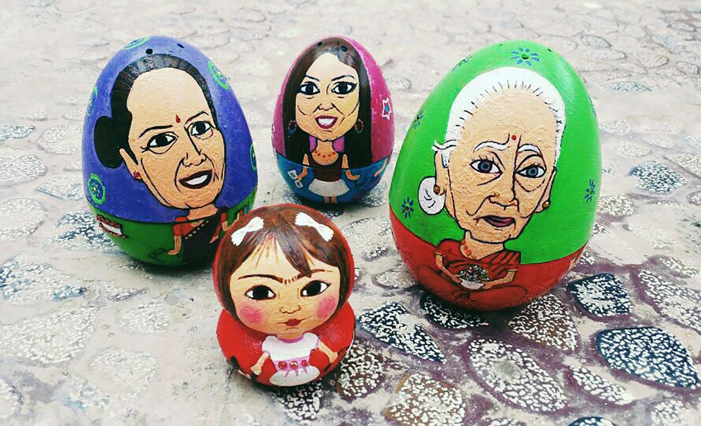 Matriarchal Matryoshka by Divya Chandrashekar at Coroflot com