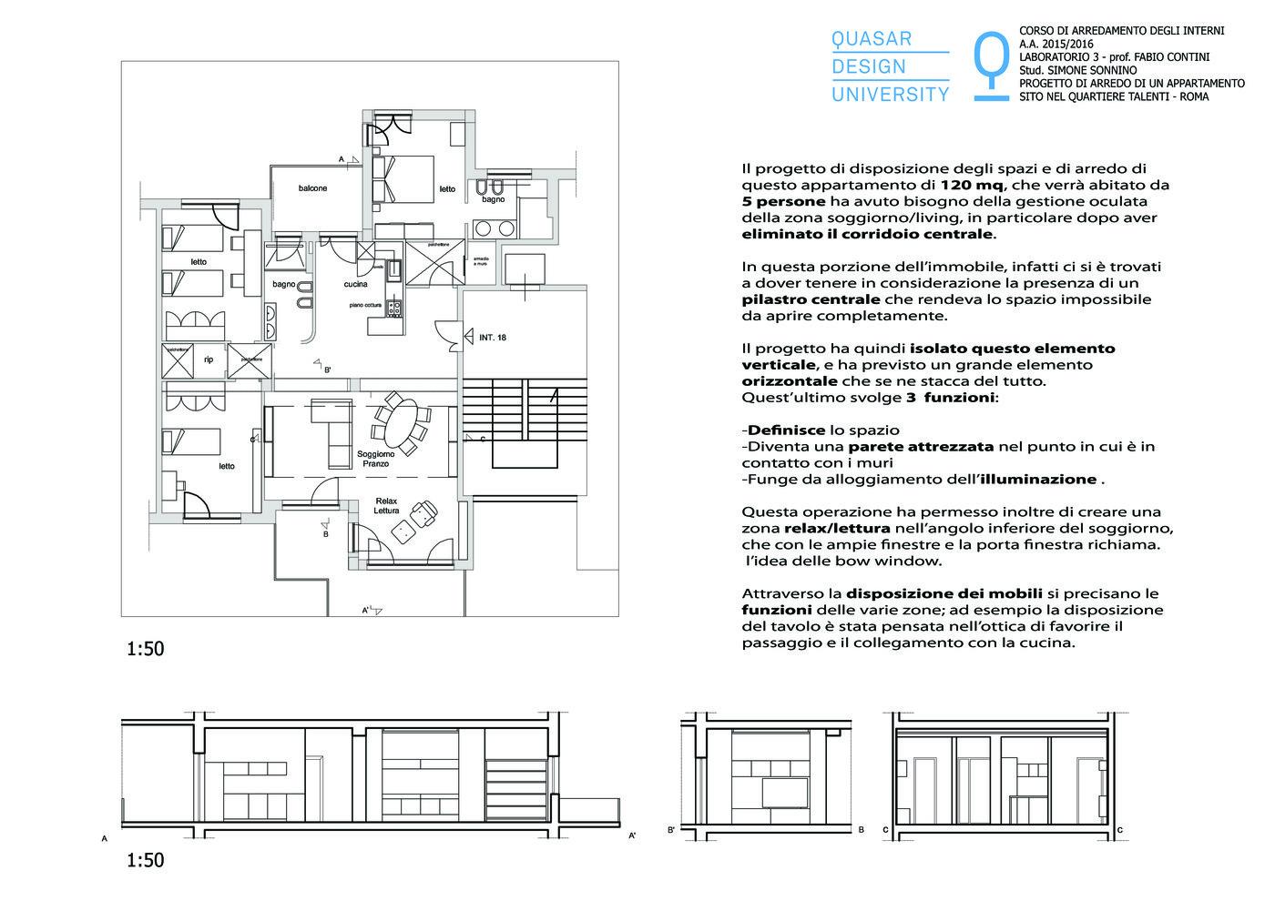 Progetto Bagno 3 Mq apartament in talenti - rome by simone sonnino at coroflot