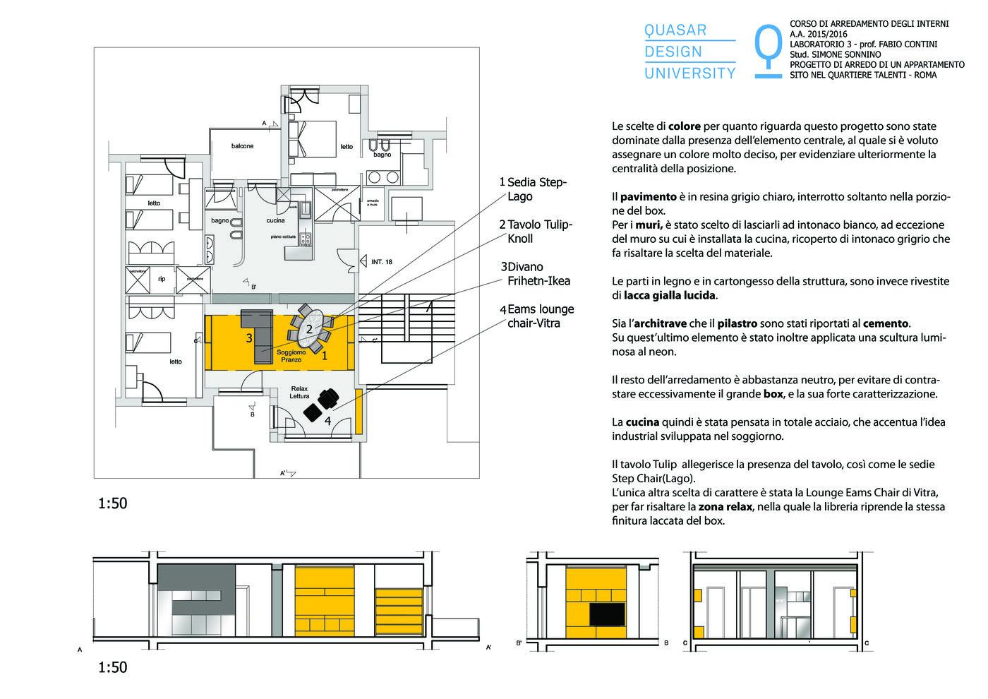 Come Progettare Cucina Ikea apartament in talenti - rome by simone sonnino at coroflot