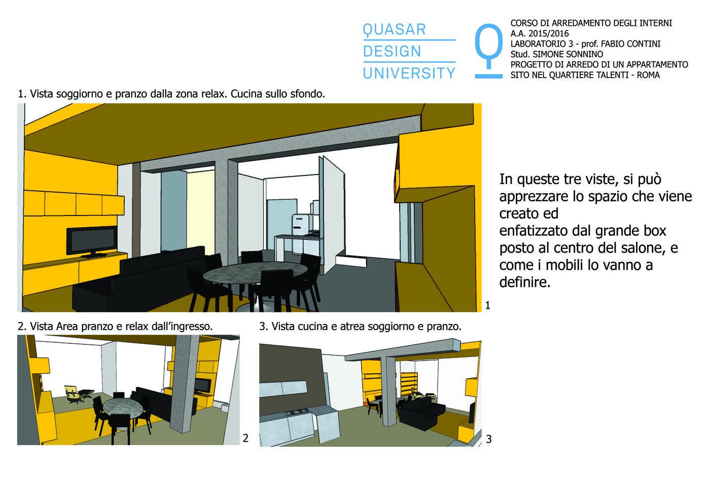 Design Degli Interni Roma apartament in talenti - rome by simone sonnino at coroflot