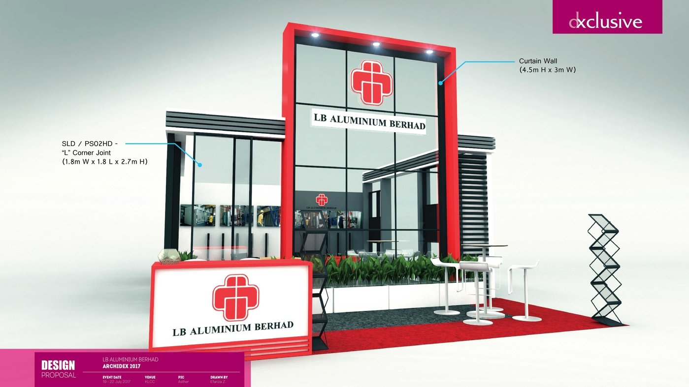 Exhibition Stand Proposal : Exhibition stand design and construction service for light fair