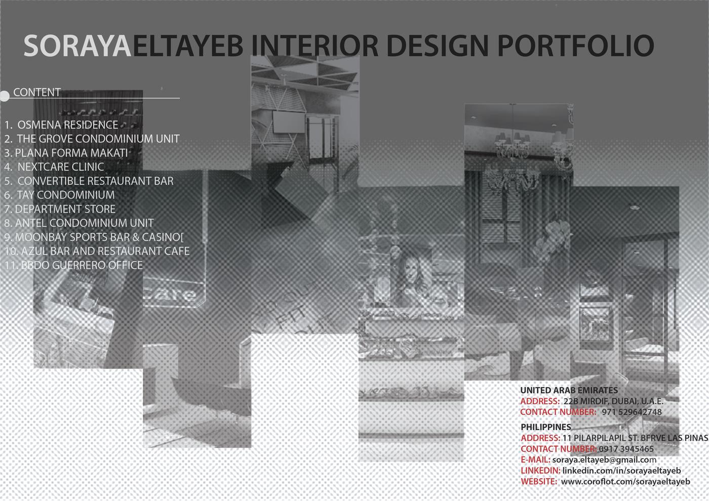 Interior Designer Portfolio By Soraya Eltayeb At Coroflot Com
