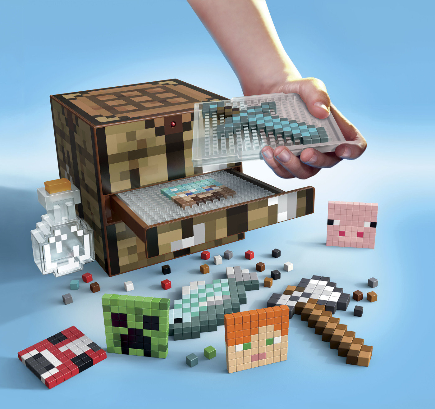 Surprising Minecraft Crafting Table Activity Kit By Peter Chuang At Download Free Architecture Designs Barepgrimeyleaguecom