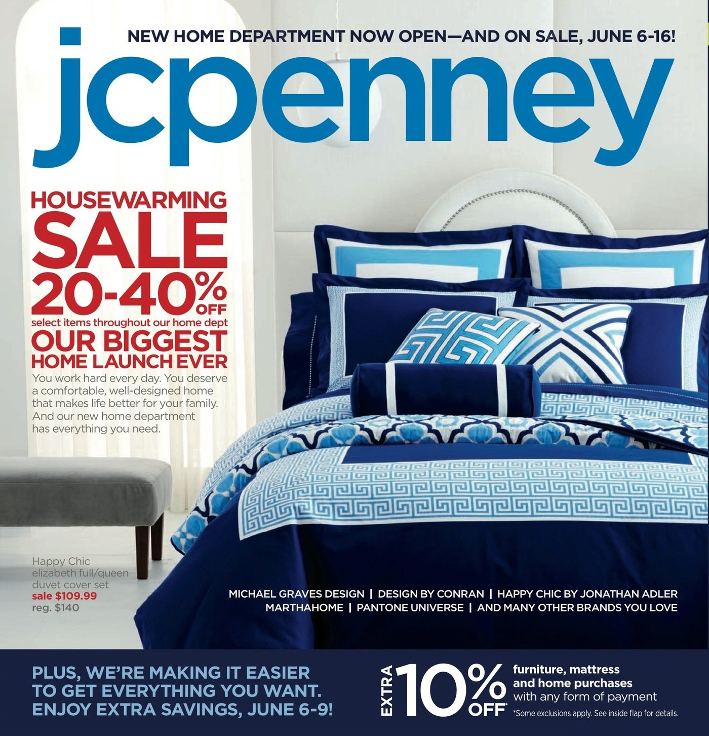 Jc Penneys Home Store: JCPenney Home Relaunch Mailer, May 2013 By Evan