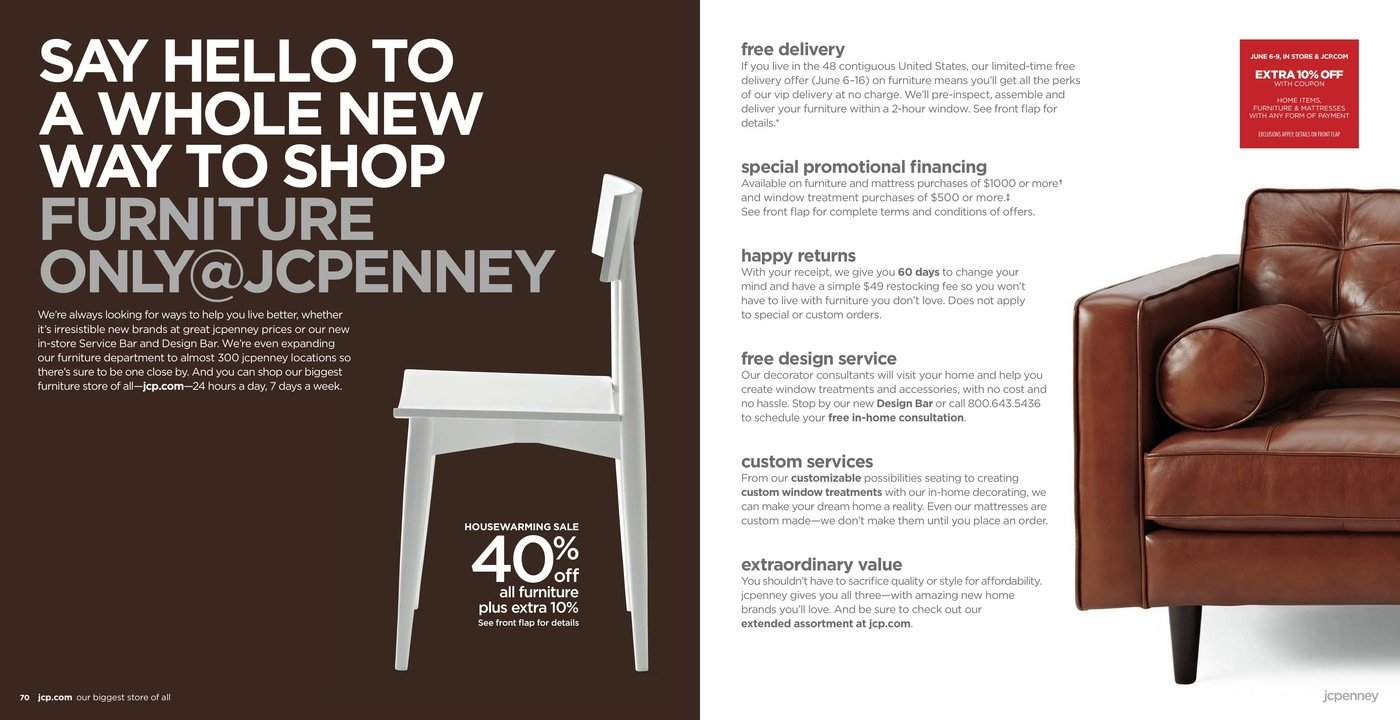 WRITING – JCPenney home relaunch mailer, May 2013 by Evan Hisey at ...