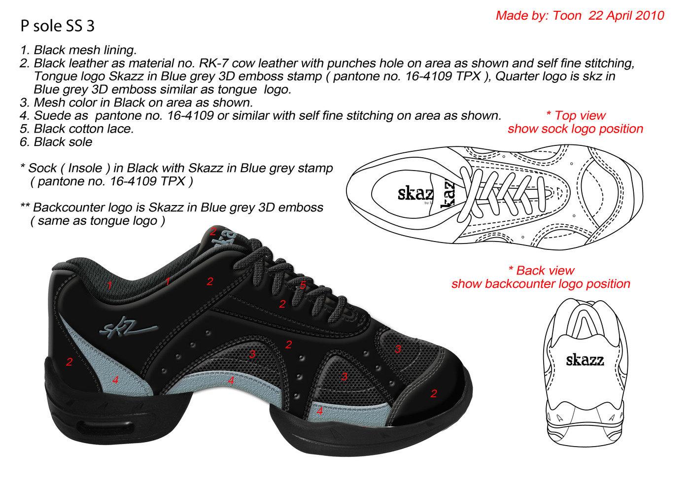 Footwear Design For Sansha