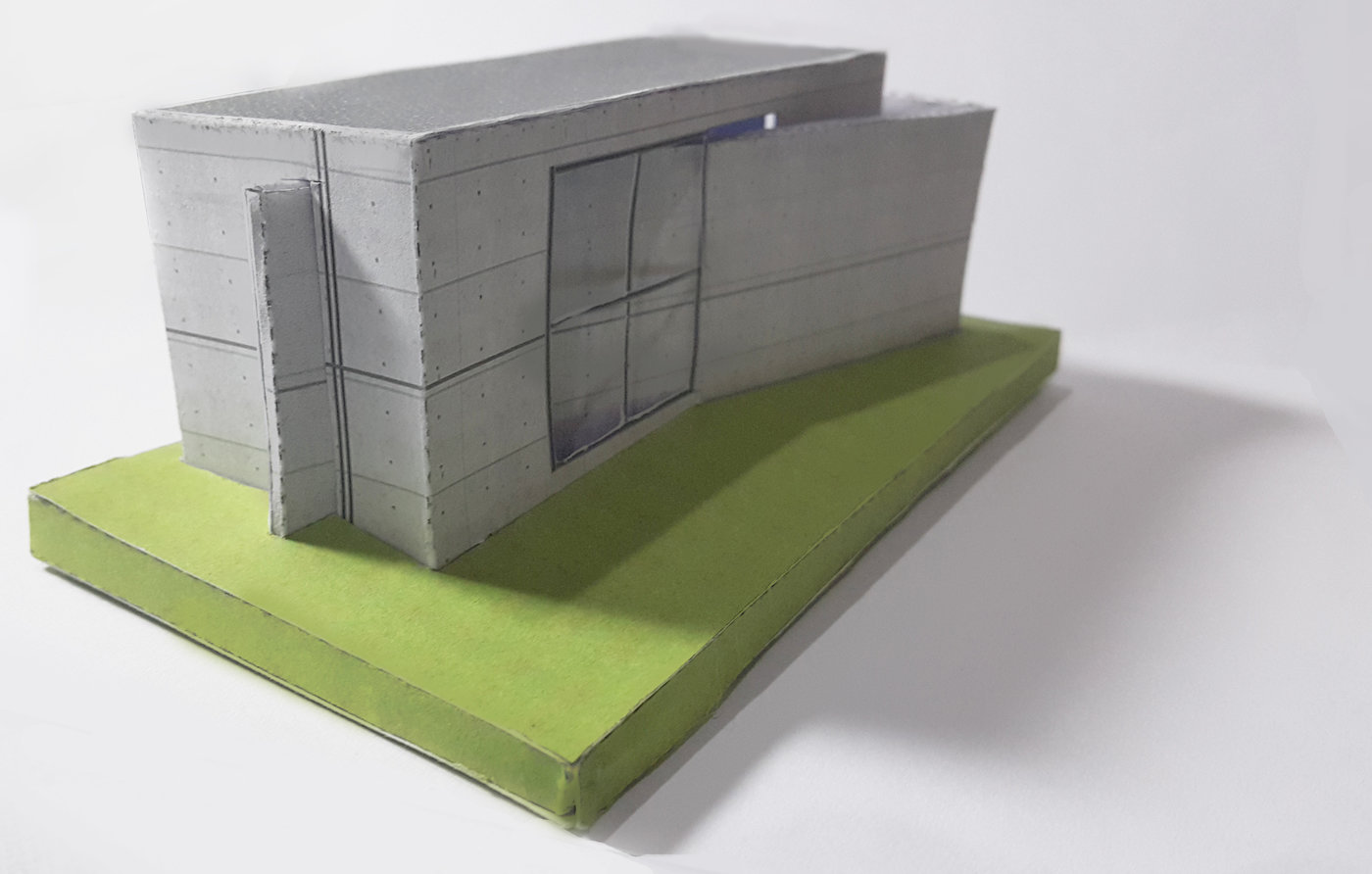 Papercraft : Church of Light by Randy Gunawan at Coroflot com