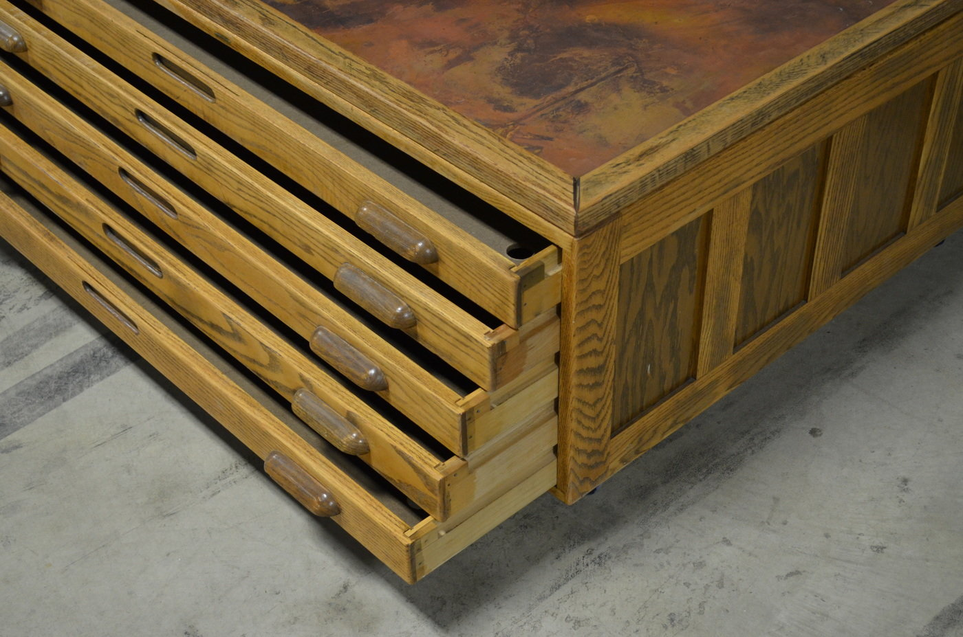 - Hamilton Flat File Coffee Table By Downtown Woodworks At Coroflot.com