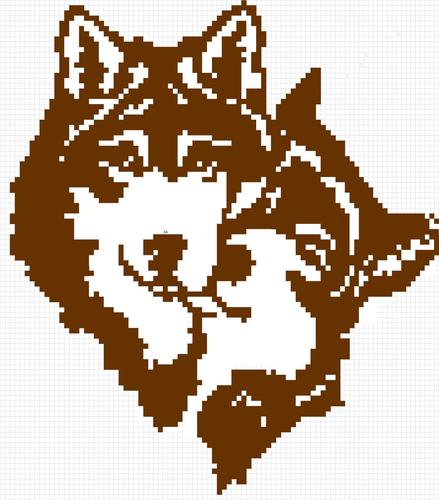 Best Of Pixel Art Wolf @KoolGadgetz.com