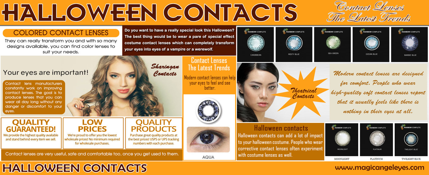 halloween contactscolor contacts at coroflot