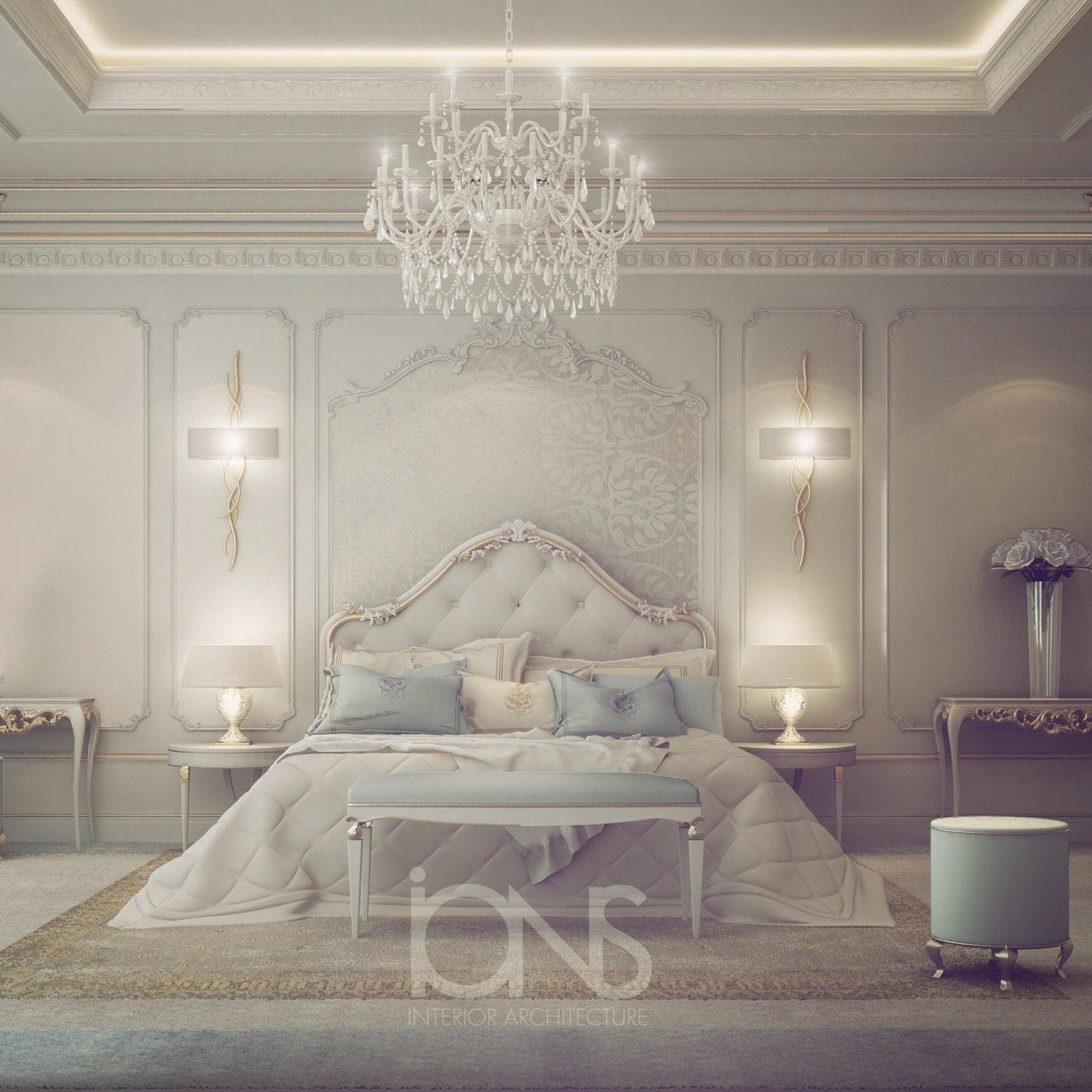 Fresh And Dreamy Bedroom Design By Ions Design At Coroflot.com