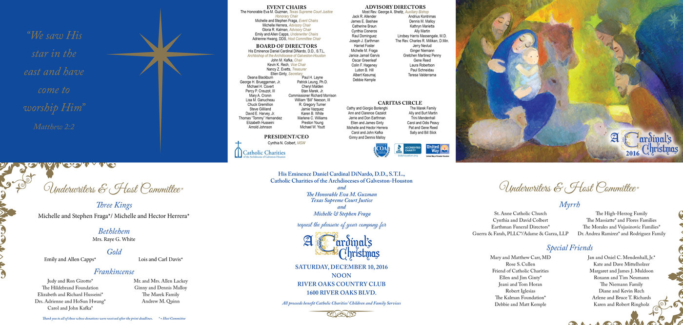 Catholic Charities' A Cardinal's Christmas by Sarah