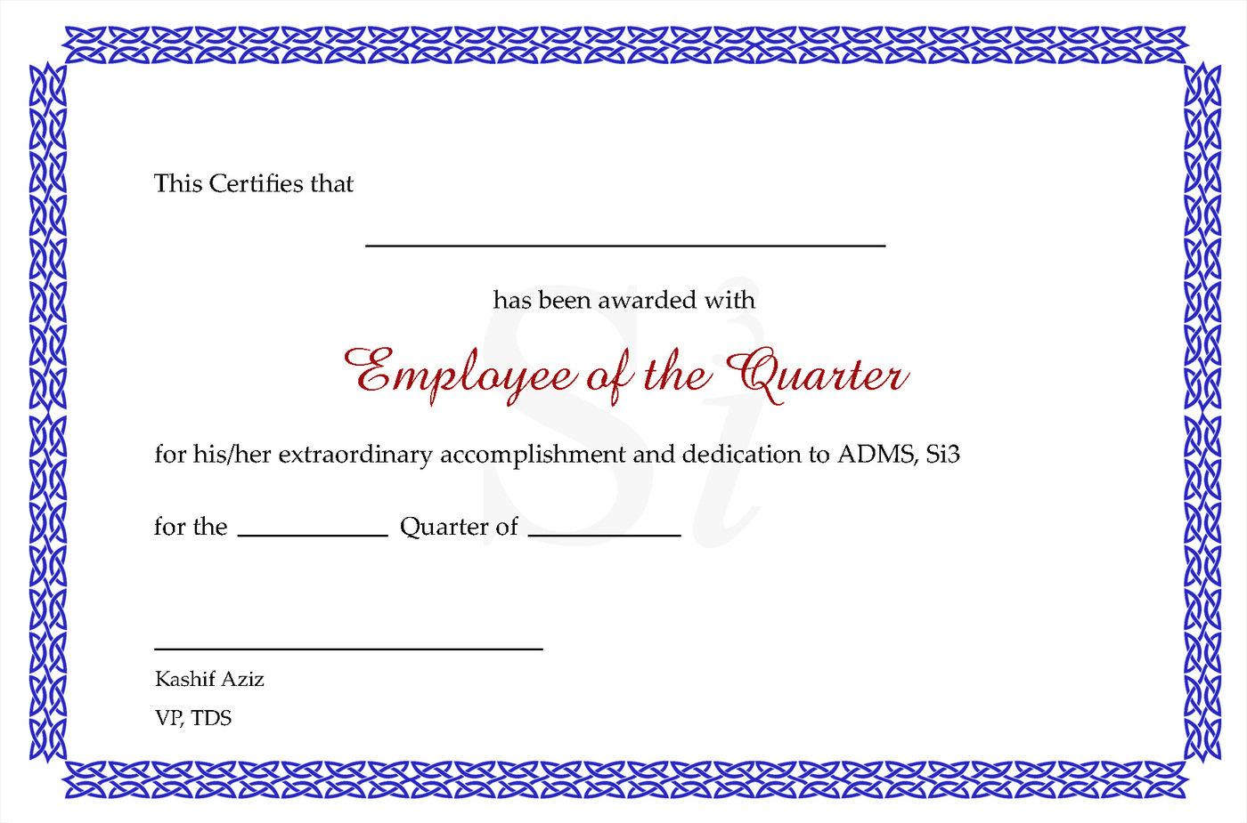 Amf Bz certificate designsraheel hassan at coroflot