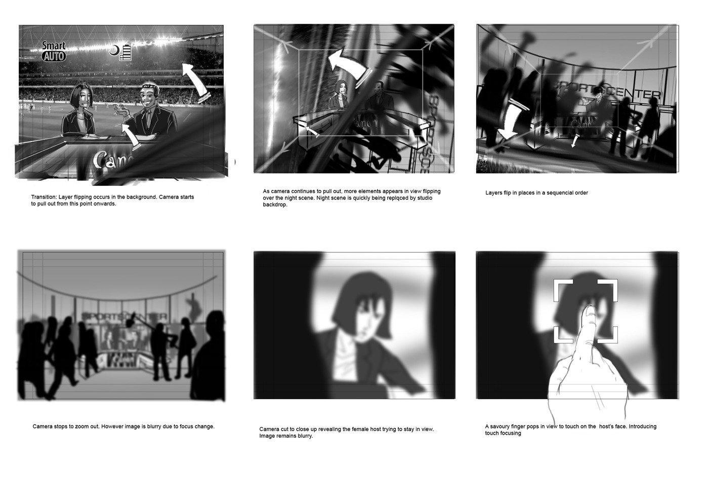 Storyboard by Anthony Wong SiewHong at Coroflot com