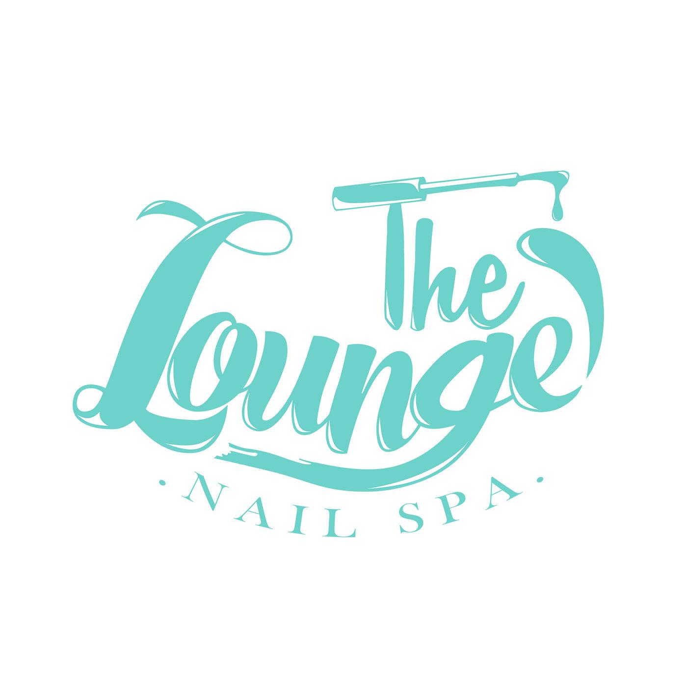 Logo Design The Lounge Nail Spa By Karina So At Coroflot