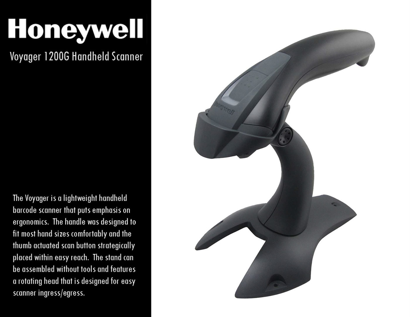 Honeywell Voyager Handheld Scanner by James Byun at Coroflot com