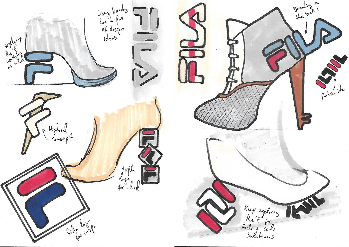 Fila Disruptor Heel by Bernardo Soares