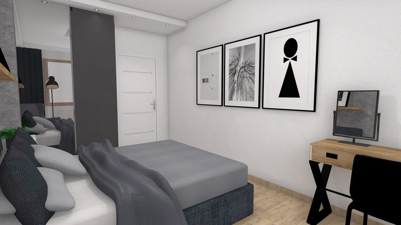Sypialnia W Stylu Loft By Agnieszka Kwaśny At Coroflotcom