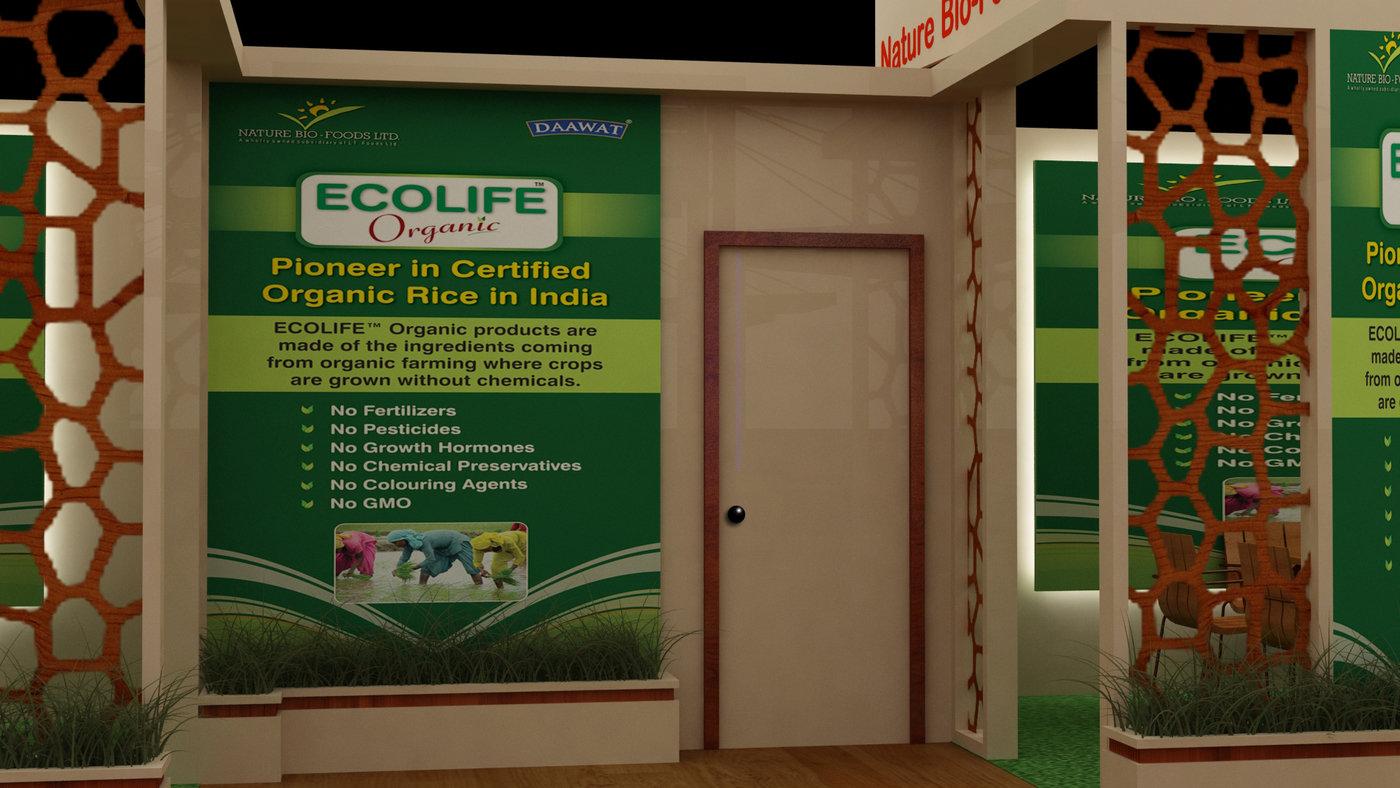 Theme base stall design-1 by SURINDER Soni at Coroflot com