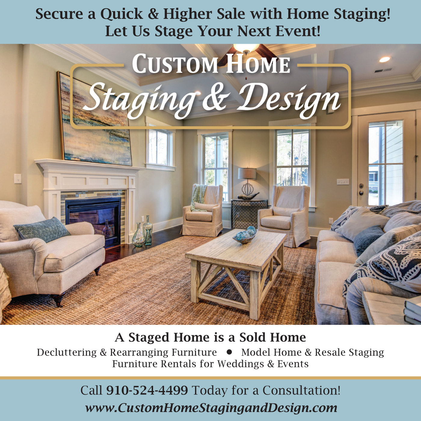 Home Staging Ad By Shanna Thomson At Coroflotcom