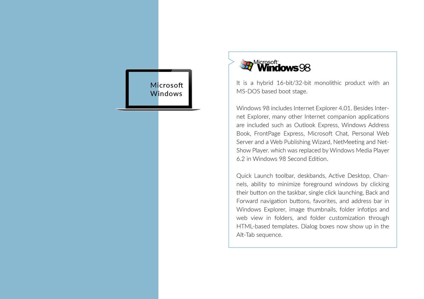 Presentation of Windows History by bindu vishwakarma at