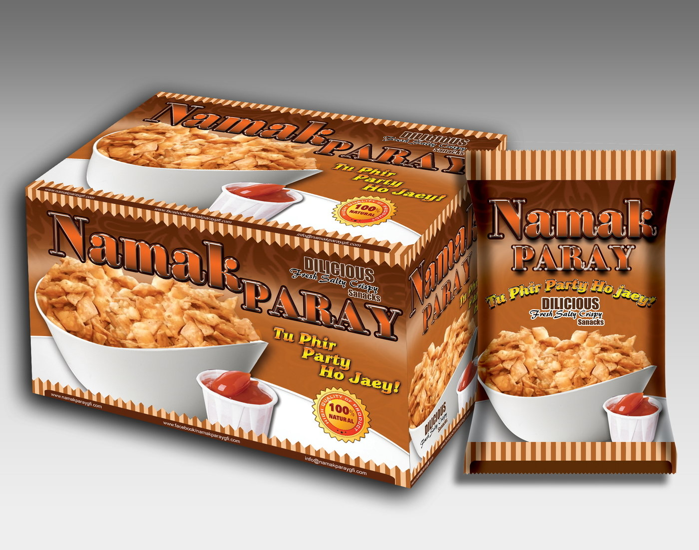 New Packaging for golden Food Industries by A Muzafar at Coroflot com
