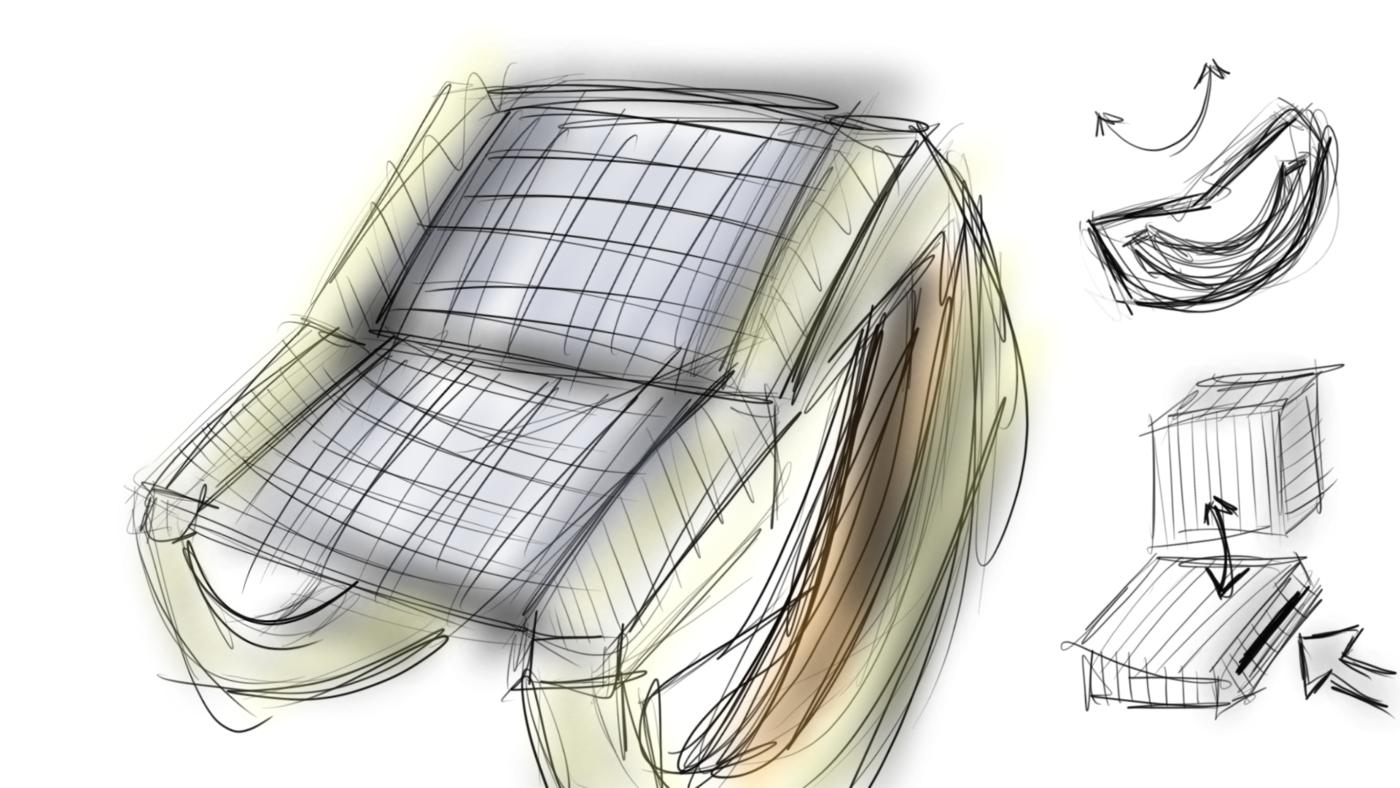 Remarkable Circular Wedge Rocker Chair By Jordan Linton At Coroflot Com Customarchery Wood Chair Design Ideas Customarcherynet