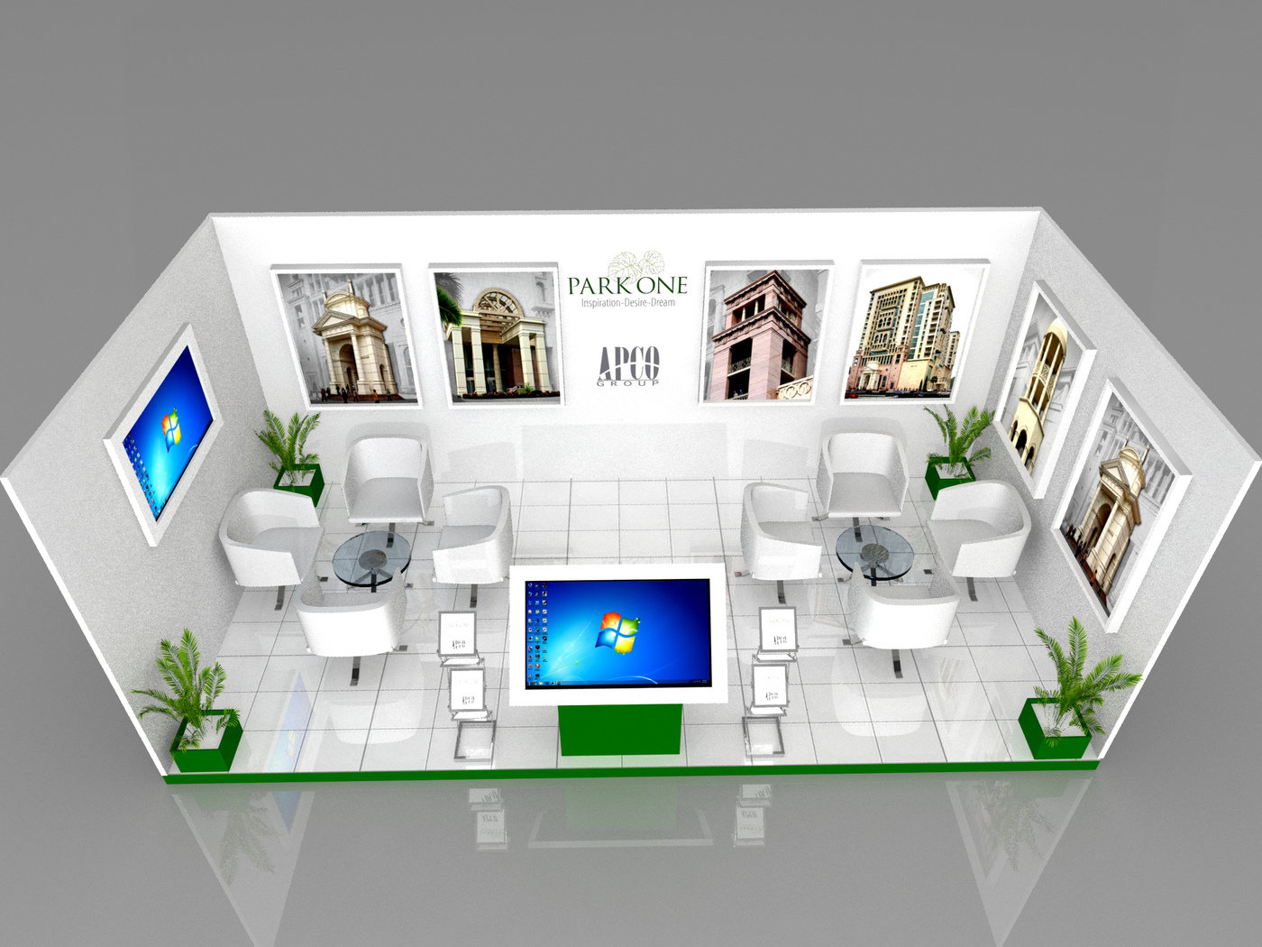 Exhibition Stand 3d Max : Exhibition stand design by sabii ort at coroflot