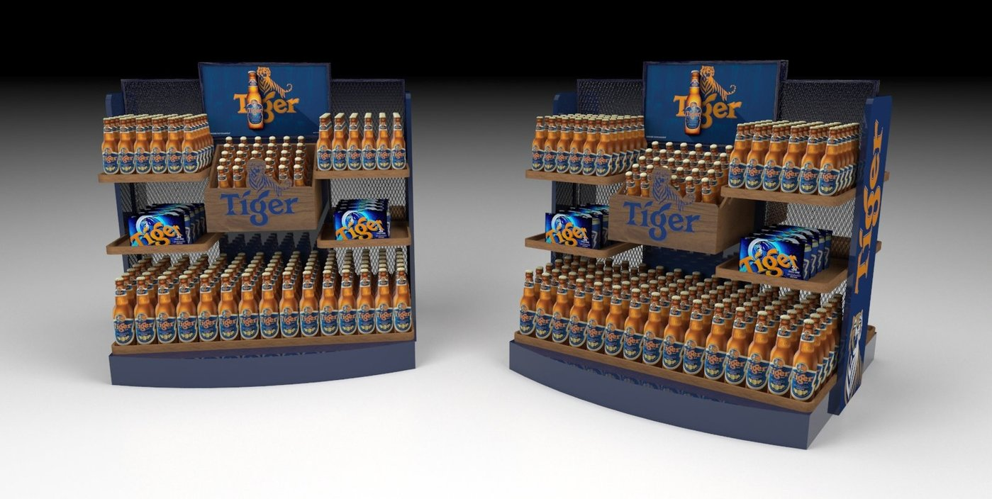 Mass Display Units Tactical Bins By Bennedictine Antoinne