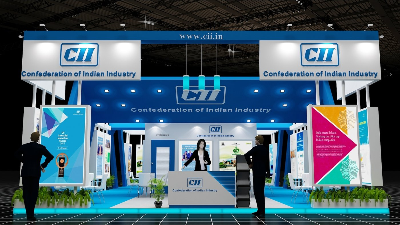 CII DESIGN----PRAGATI MAIDAN 2017 by AJAY kumar at Coroflot com