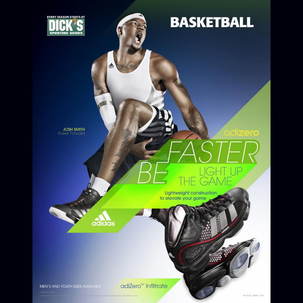 Adidas Basketball Print Ad By Trevor Karnofski At Coroflot Com