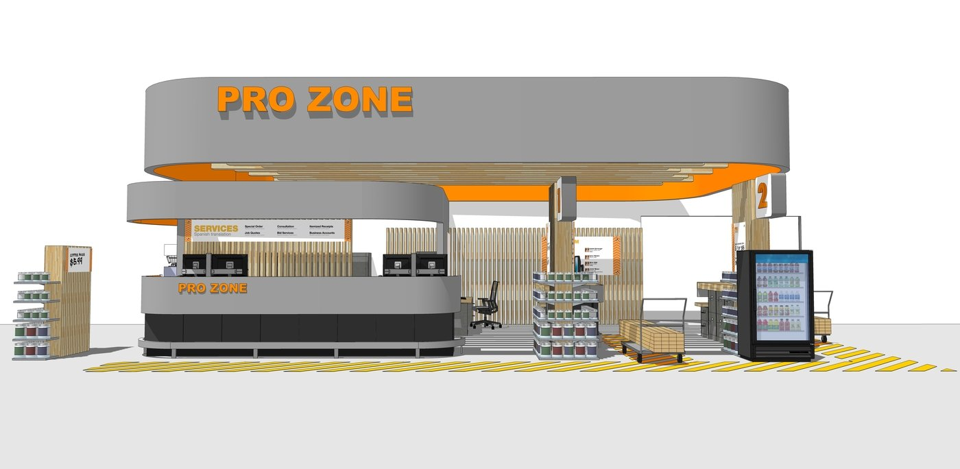Pro Desk For The Home Depot